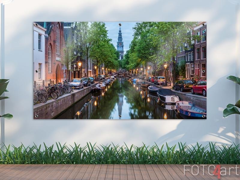Foto auf Gartenposter - Amsterdam