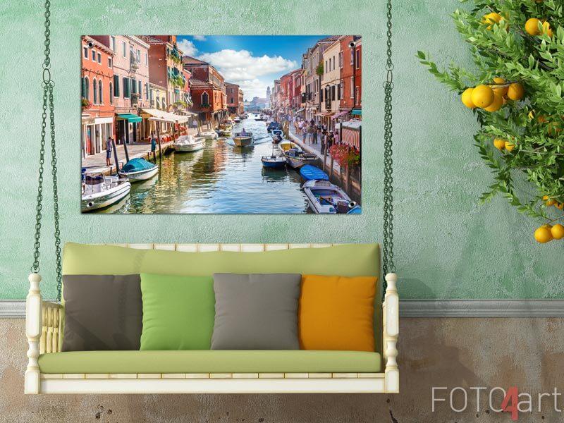 Foto auf Gartenposter - Insel Murano in Venedig