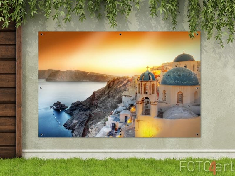 Foto auf Gartenposter - Santorini