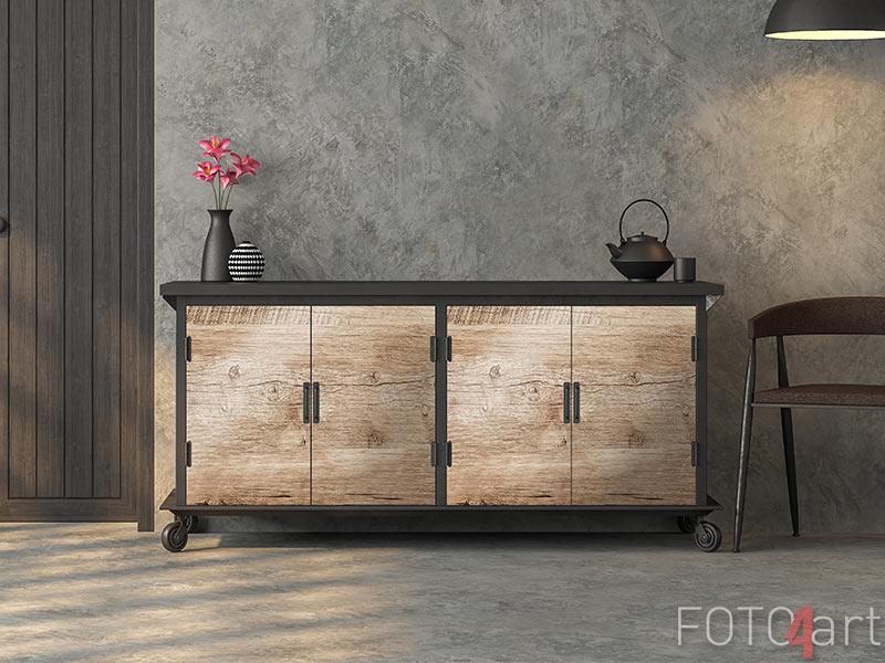 Möbelaufkleber - Old weathered wood