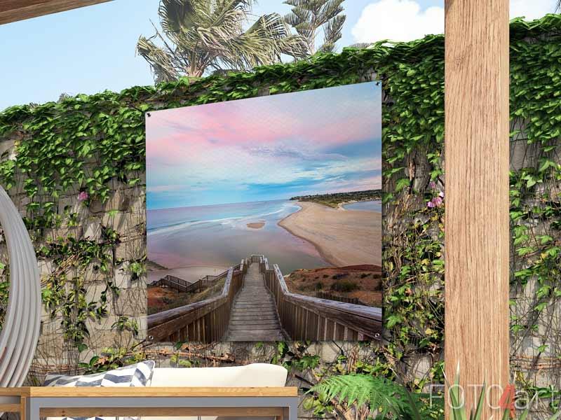 Foto auf Gartenposter - Strand