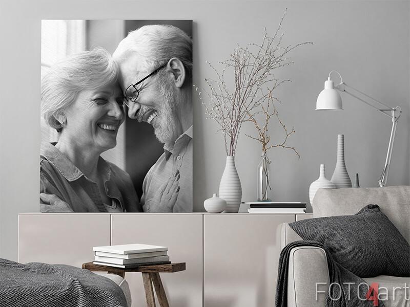 Schenken Sie Ihrem Partner ein Aluminiumporträt