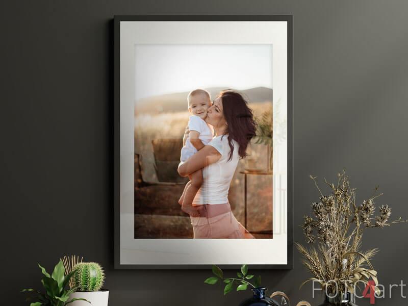 Ihr Foto auf Poster Im Rahmen