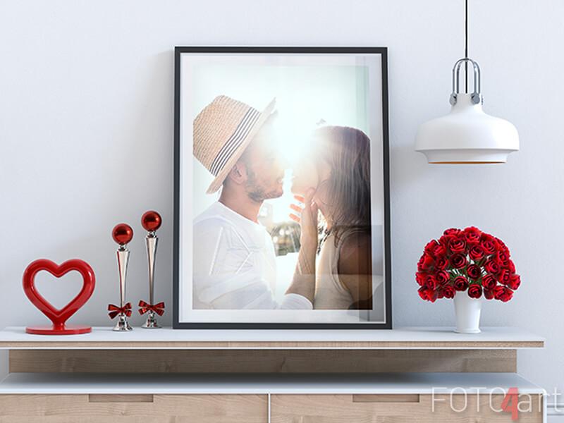 Gerahmte Poster mit eigenem Foto
