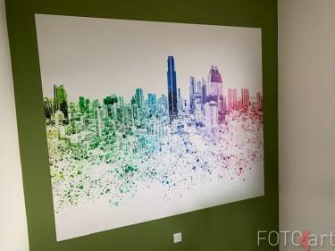 Kundenfoto Fototapete Skyline