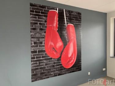 Kundenfoto Fototapete Boxhandschuhe