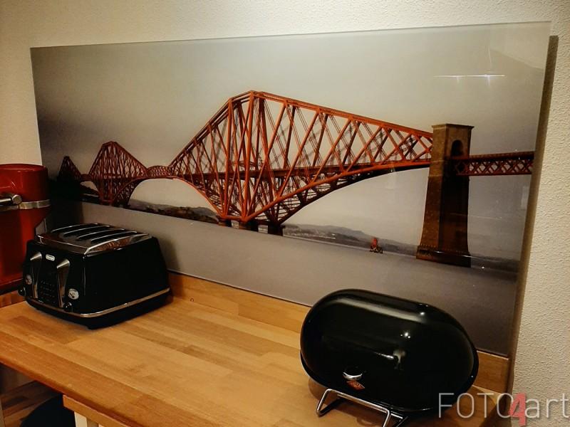 Foto Forth Rail Bridge auf Plexiglas