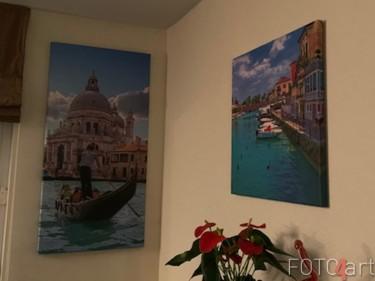 Foto auf Leinwand Gondel in Venedig