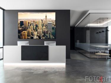Eingangshalle mit Foto auf Leinwand New York