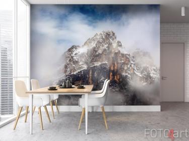 Fototapete mit Berglandschaft