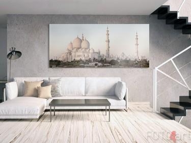 Moschee auf Alu-Dibond