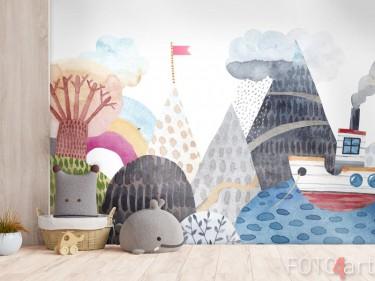 Abwaschbare Fototapete Kinderzimmer