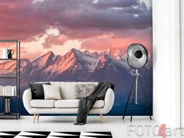 Berge auf Fototapete
