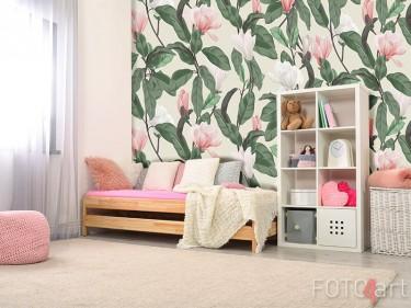 Fototapete mit Magnolienblüten