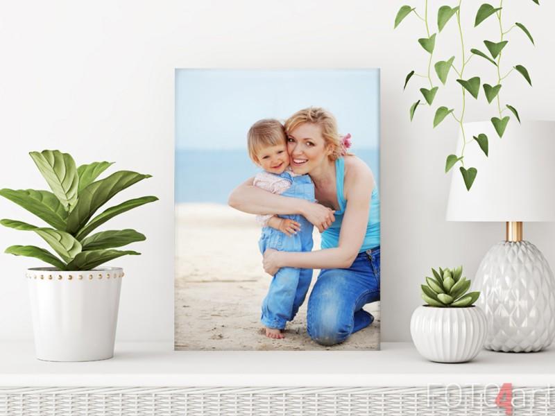 Muttertag - Foto auf Leinwand