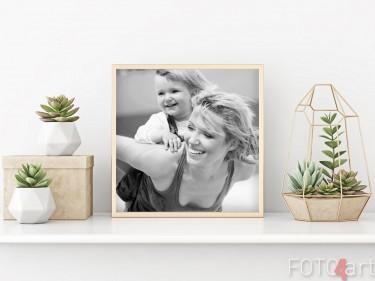 Muttertag - Foto auf Poster