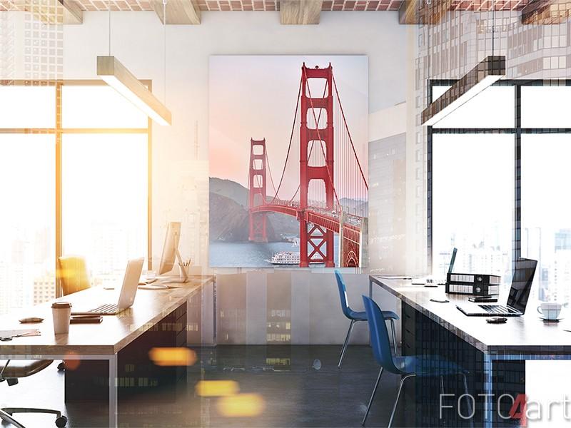 Golden Gate Bridge auf Acrylglas