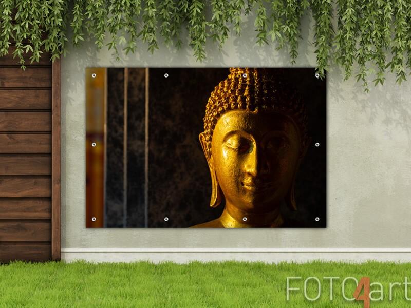 Gartenposter eines Buddhas